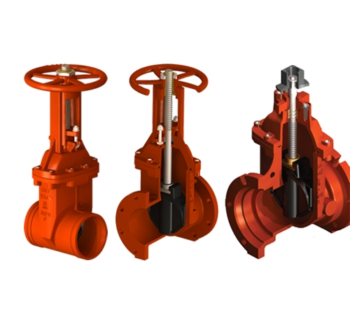 FM Approved OS&Y and NRS Gate Valves