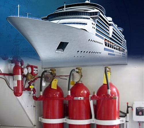 Dnv/lr/abs/BV/GL Approved Fire Protection for Marine & Offshore