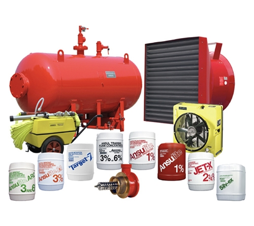 FM Approved VIKING/ ANSUL Foam Extinguishing Systems